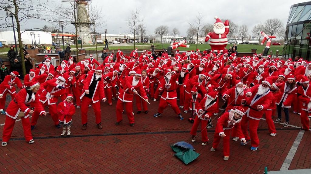 Kerst en Santa Runs