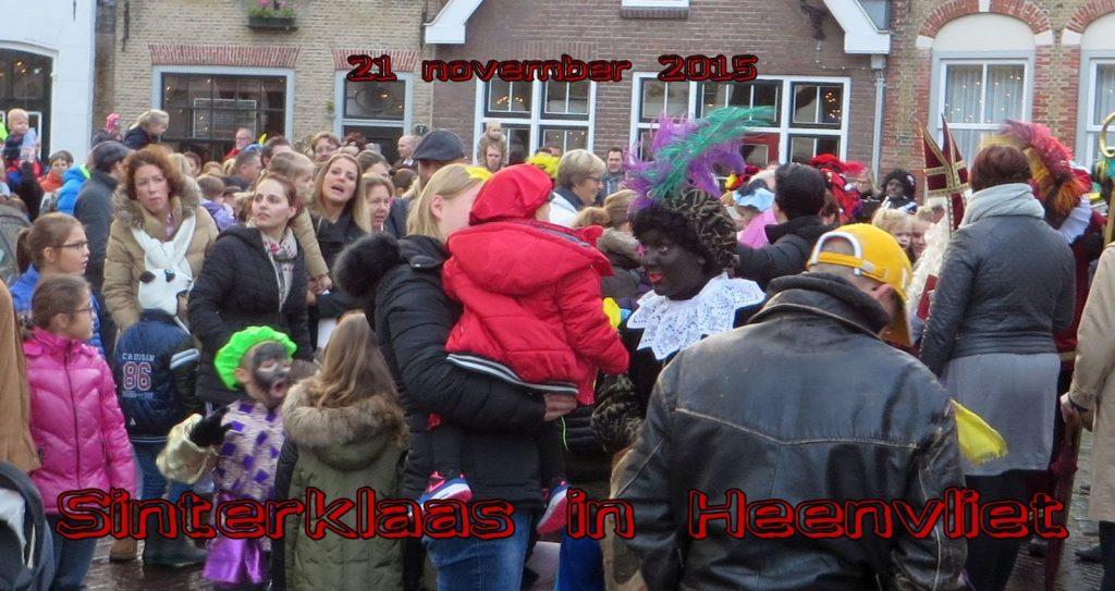 Sinterklaas komt naar Heenvliet  2015