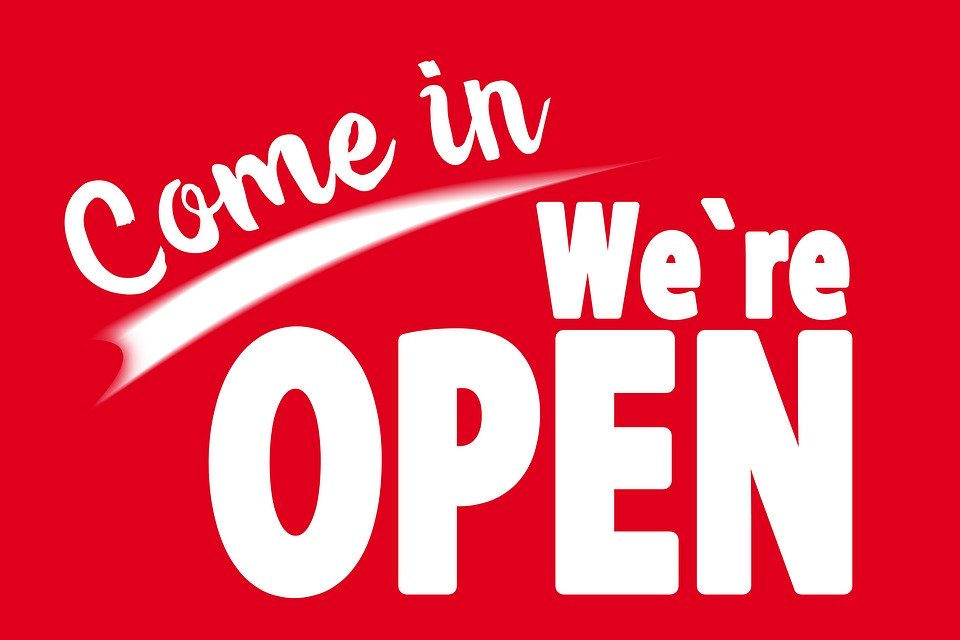 Open Dagen, Openingen en Herdenkingen